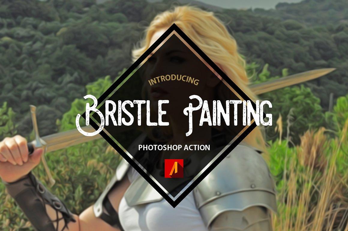 Bristle Painting 1
