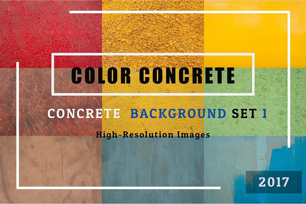 COLOR-CONCRETE-of-50-Concrete-Textures-Background-Set-01