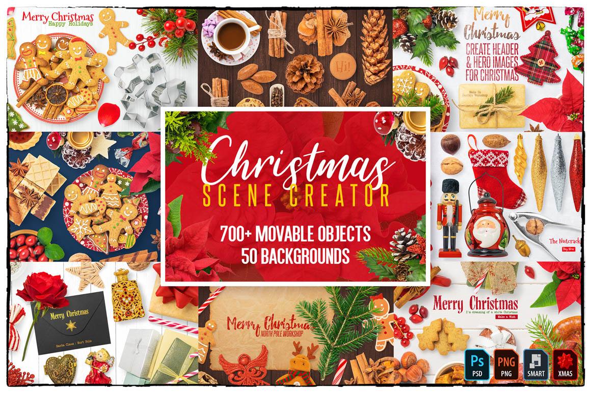 Christmas Scene Creator Preview 1
