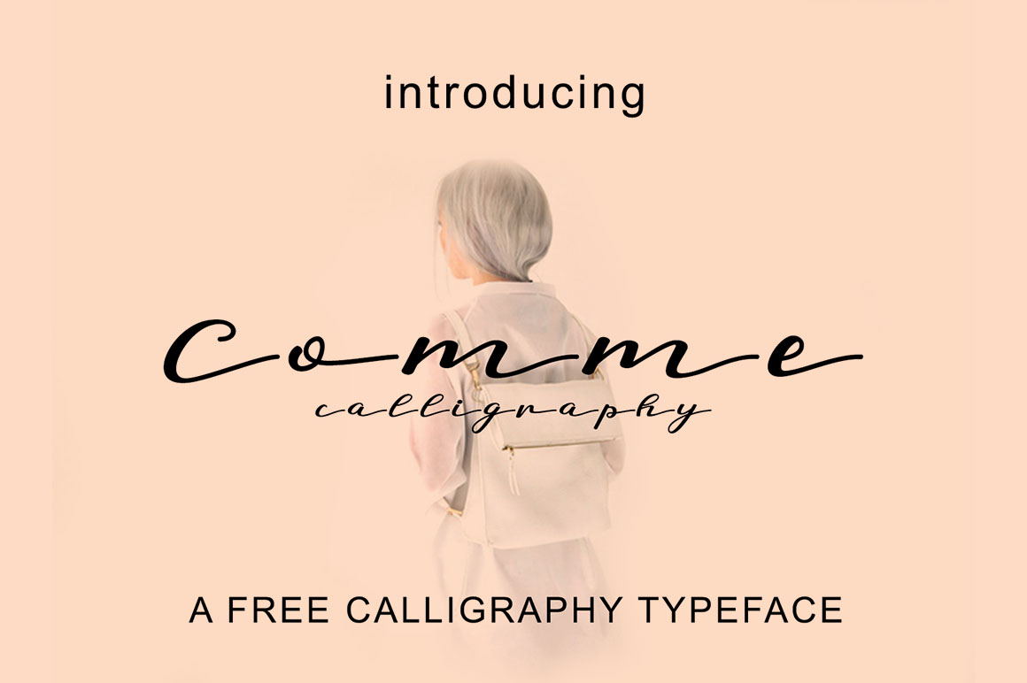 CommeCalligraphy1