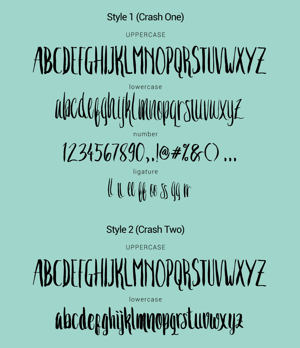 Crash-One-Two-Free-Font-4