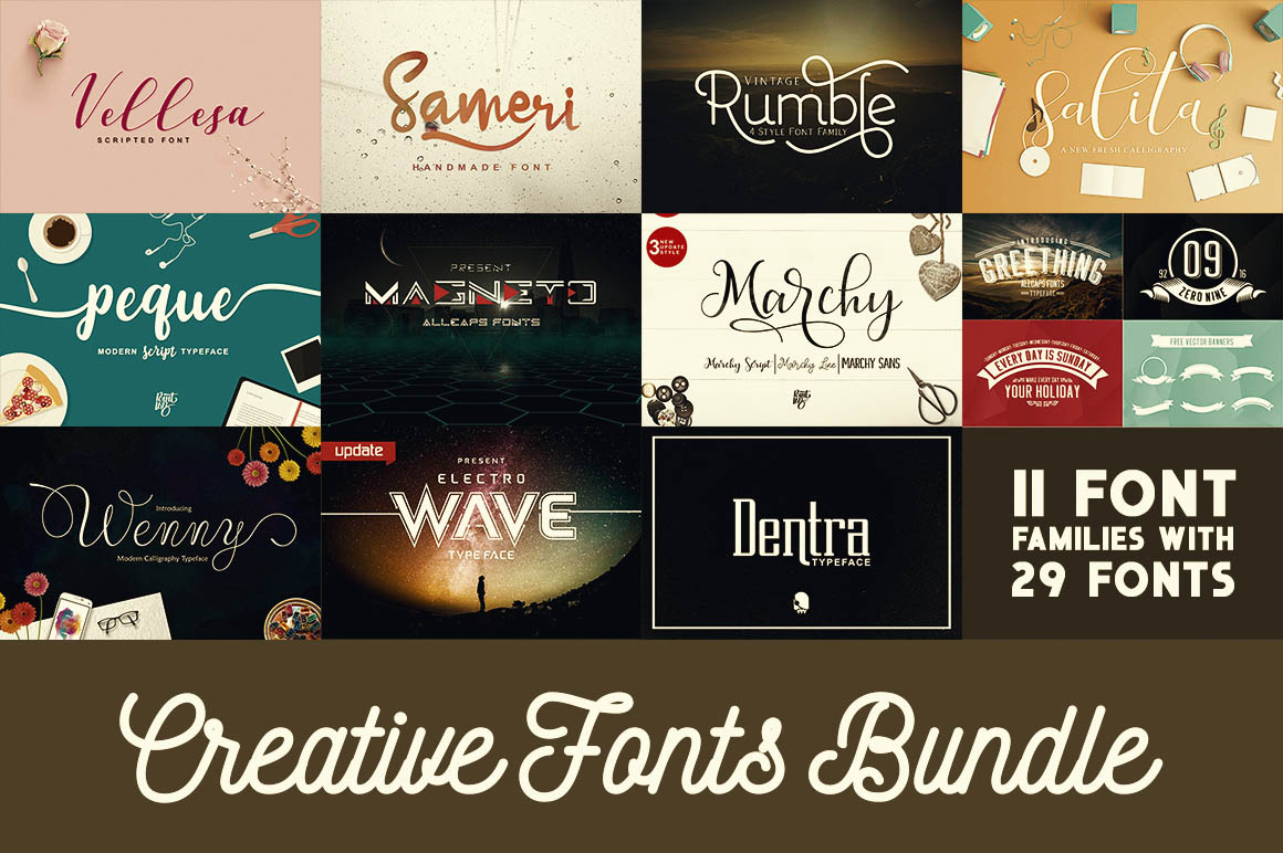 CreativeFontsBundle
