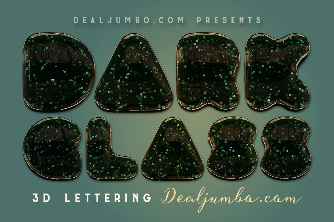 DarkGlass3DletteringDealjumbo1