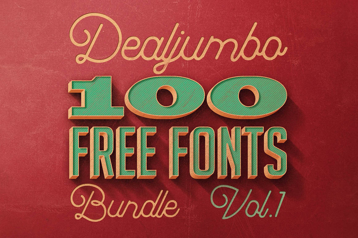 Dealjumbo100FreeFonts