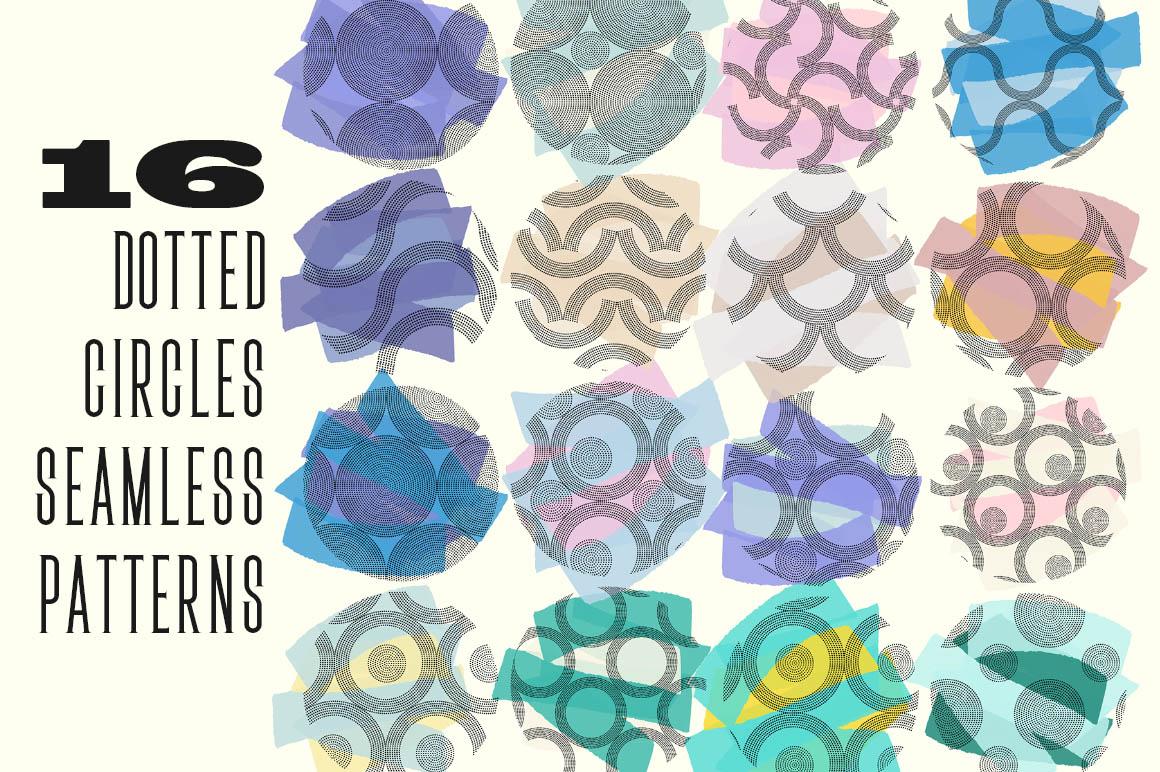 DottedCirclesSeamlessPatterns1