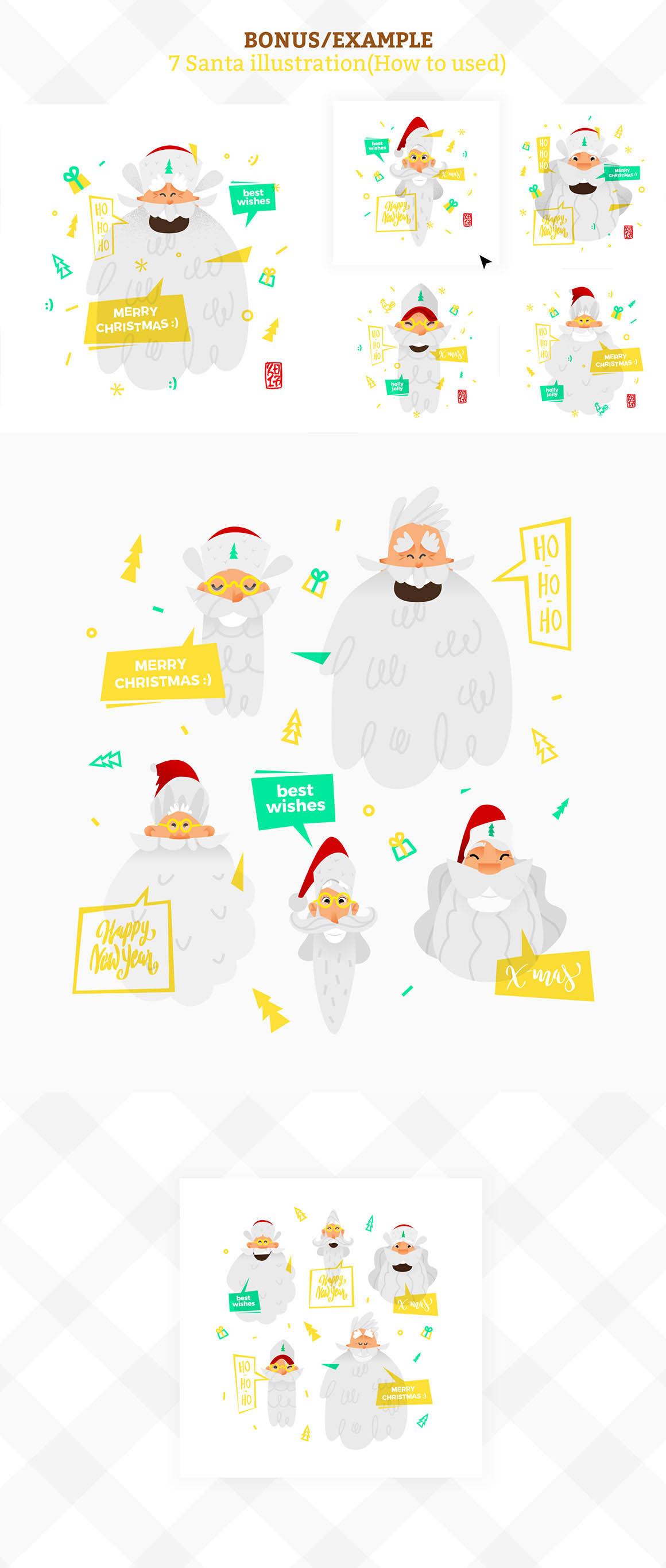 ChristmasSantaAnimationSets59