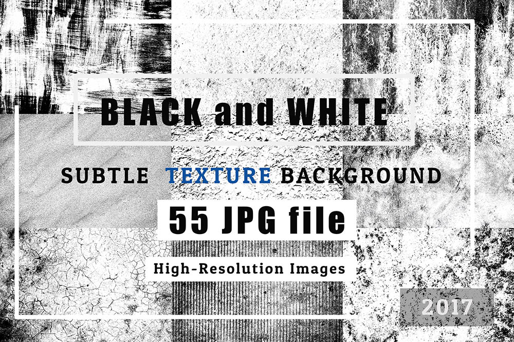 EX1-BLACK-and-WHITE-of-55-Grunge-TEXTURES-BACKGROUND-Set-1
