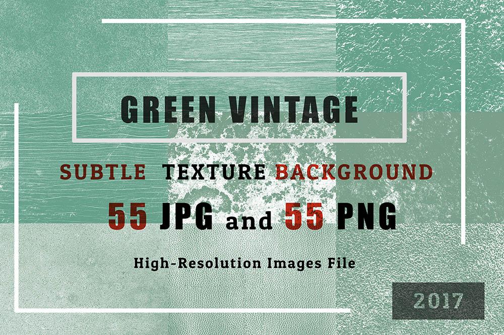 EX2-Green-Vintage-of-55-Grunge-TEXTURES-BACKGROUND-Set-1