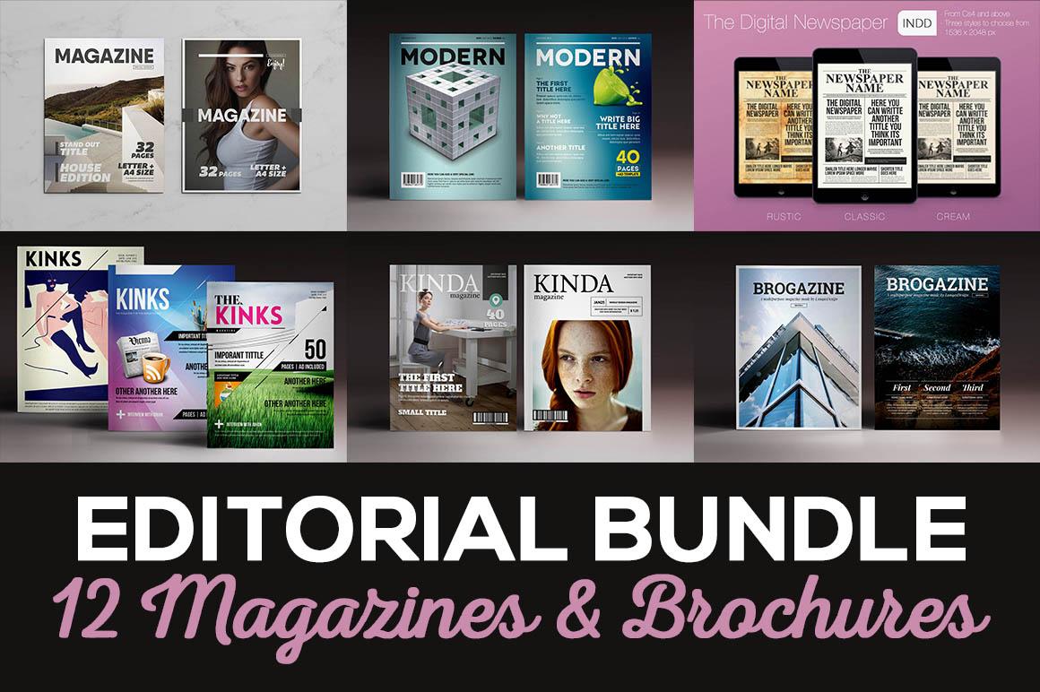 EditorialBundleMagazines&Brochures