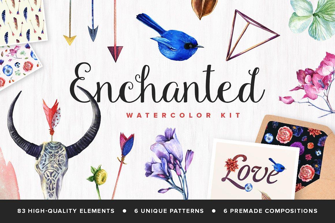 Enchanted Watercolor Kit1