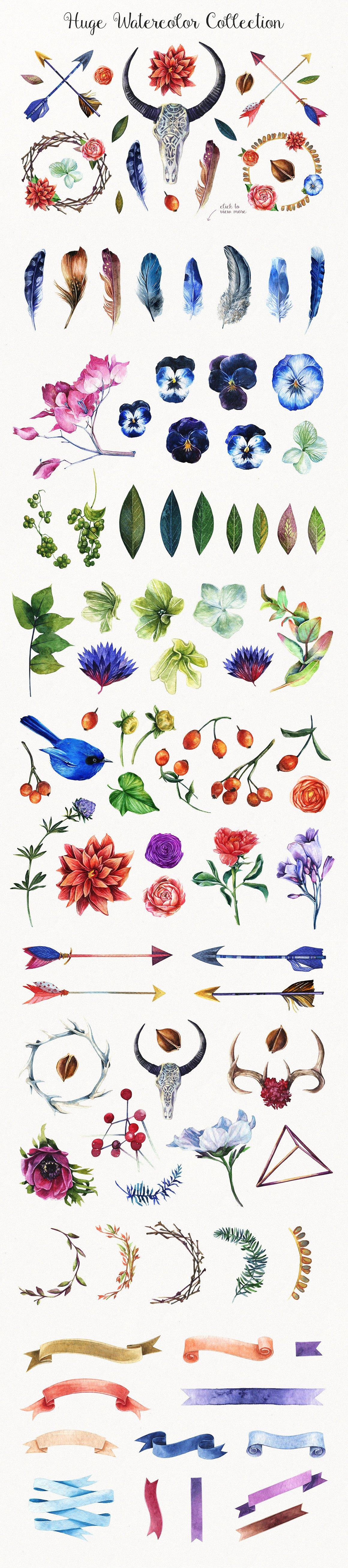 Enchanted Watercolor Kit2