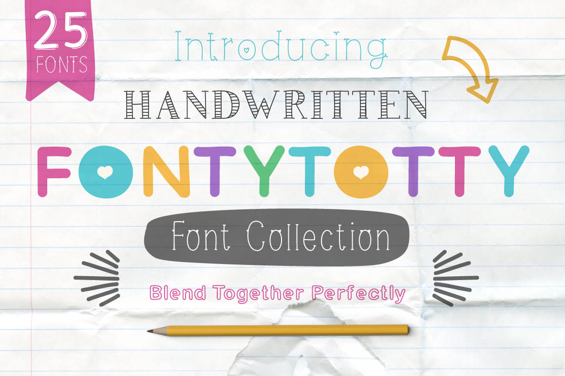 FONTYTOTTY_FONT_COLLECTION1