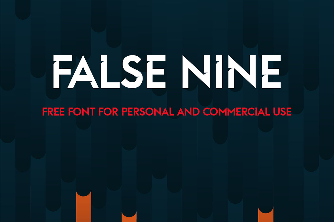 False-Nine-free-font-1