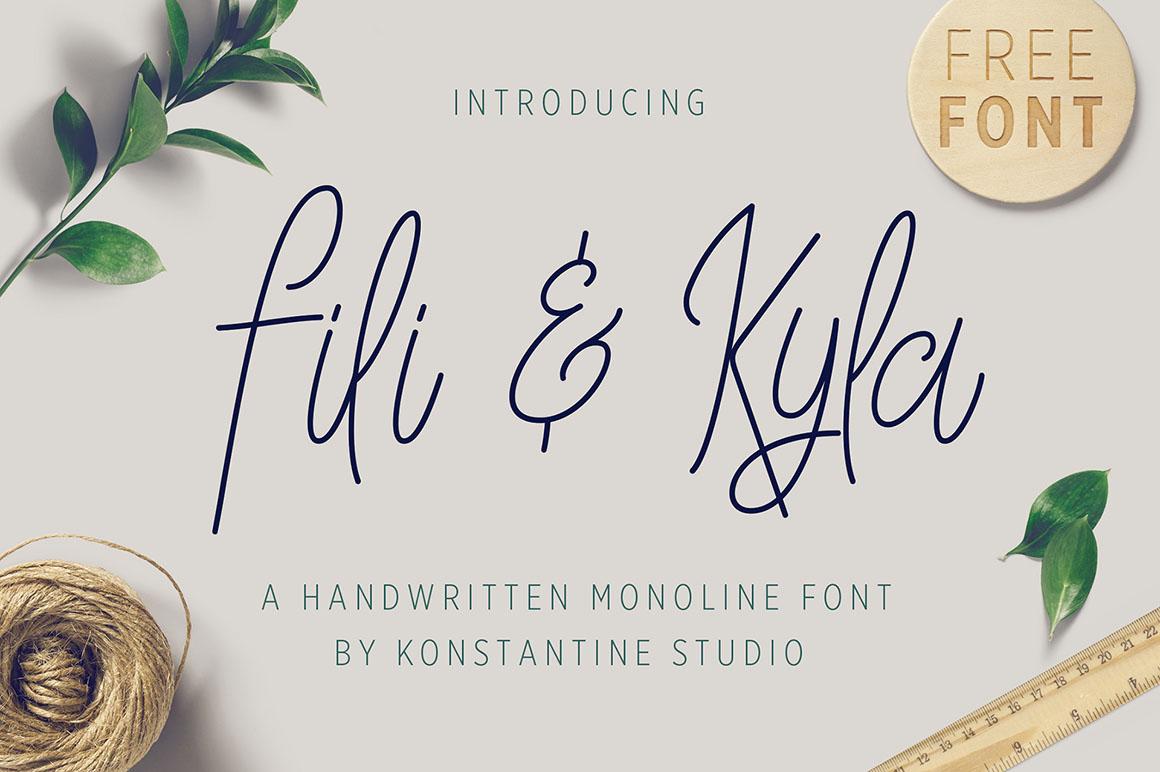 Fili-and-Kyla-free-font-1