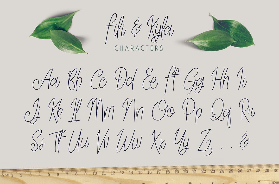 Fili-and-Kyla-free-font-2