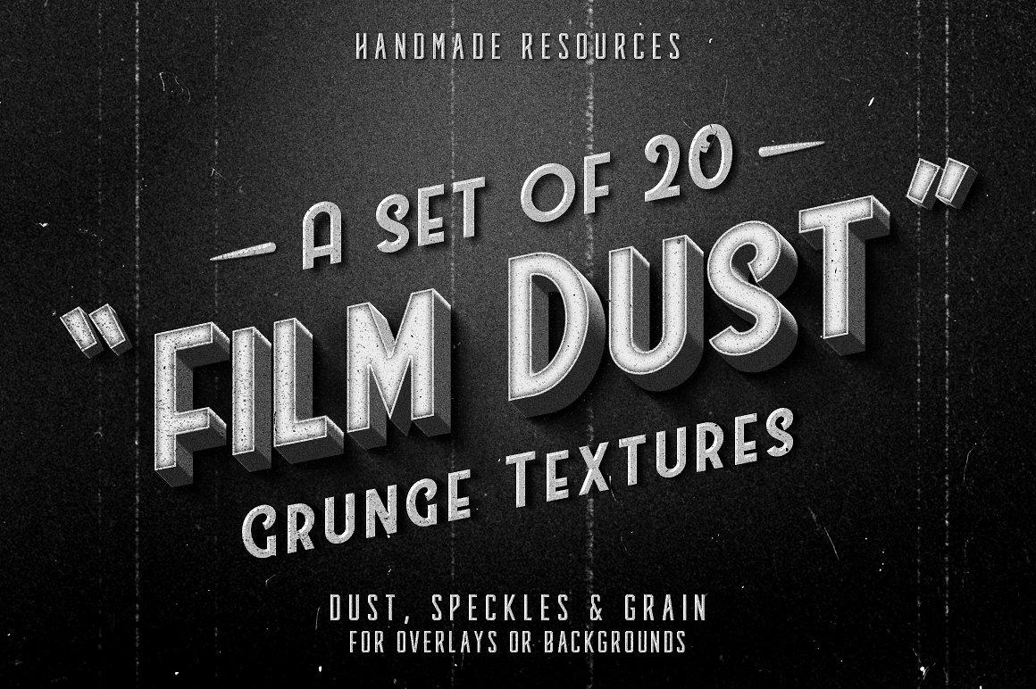 Film Dust grunge textures 1