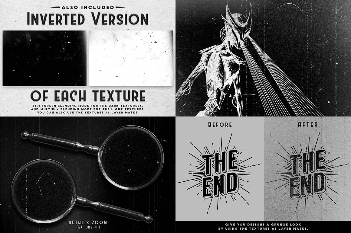 Film Dust grunge textures 2