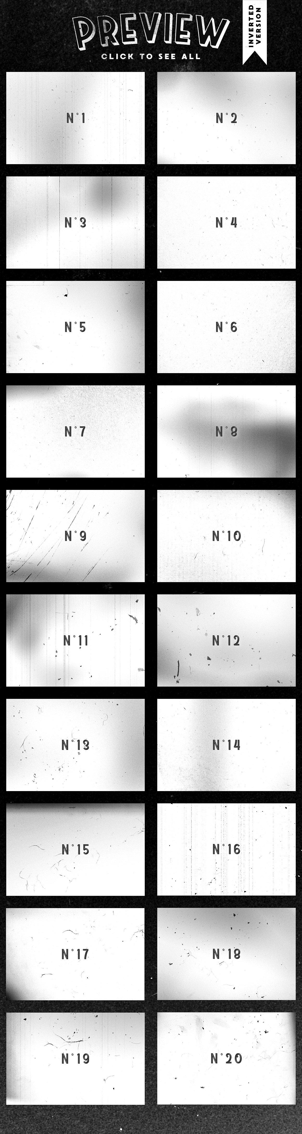 Film Dust grunge textures 9