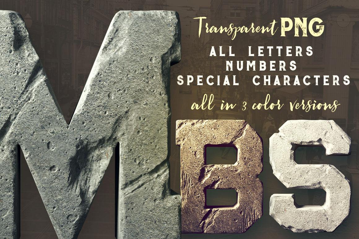 FlintyStone3Dlettering2