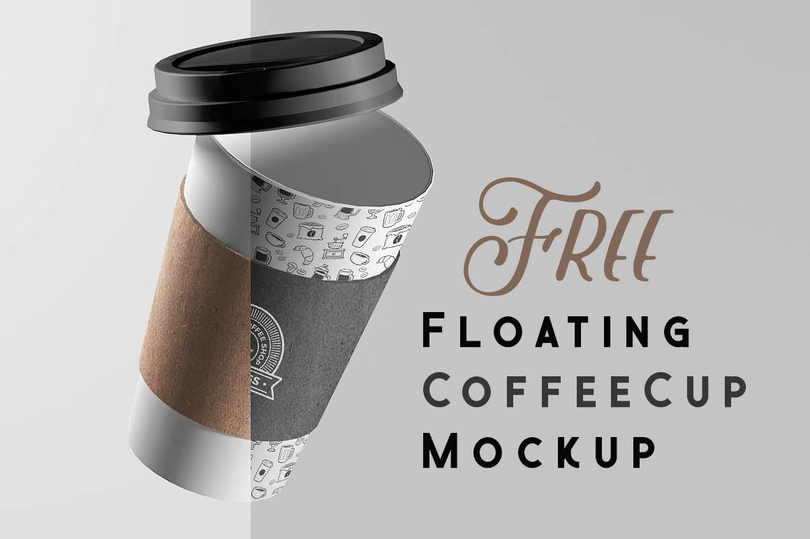 FloatingCoffeeCupMockup1