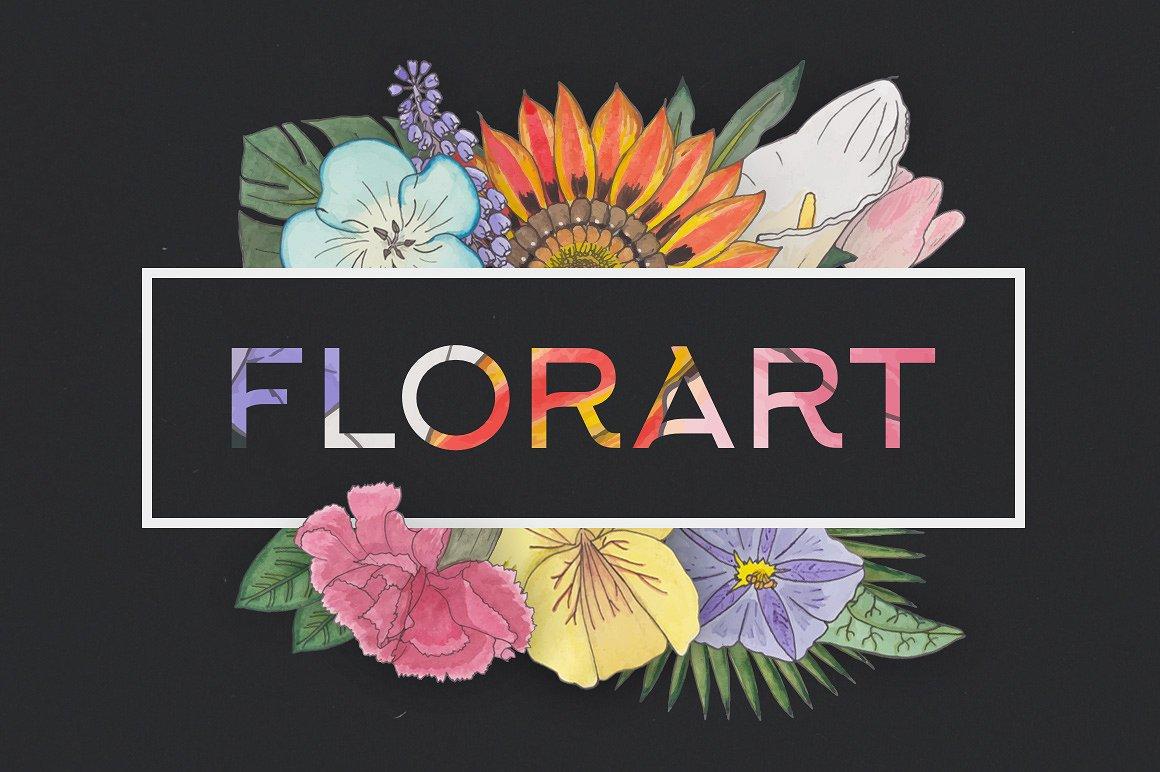 FlorArt Watercolor Kit1