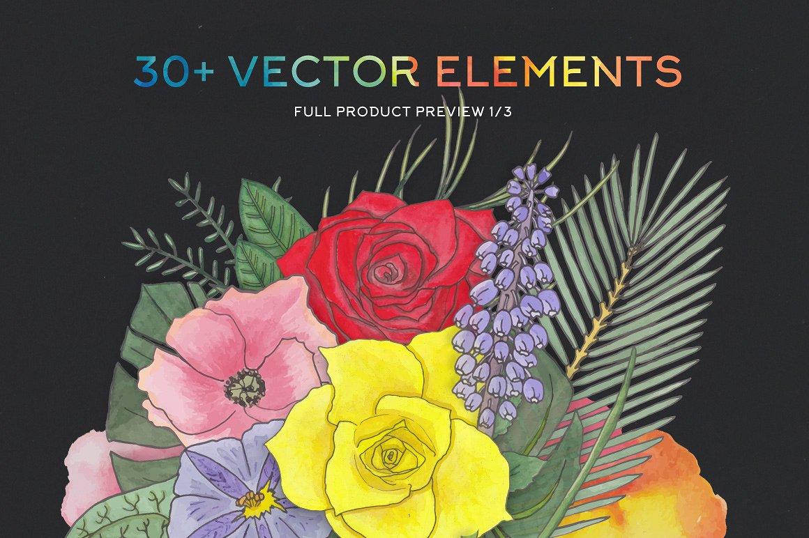 FlorArt Watercolor Kit3