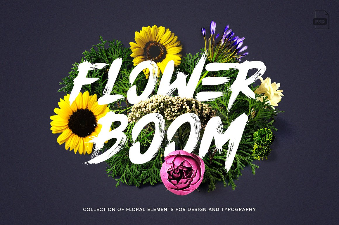 Flower Boom Graphic Pack1