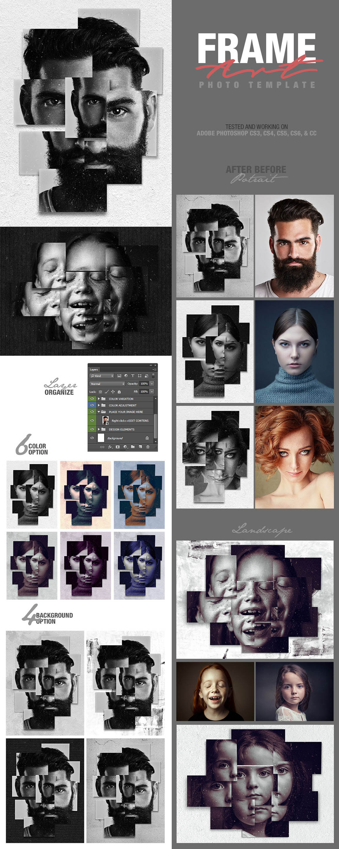 Frame Art Photo Template (design by AMORJESU)