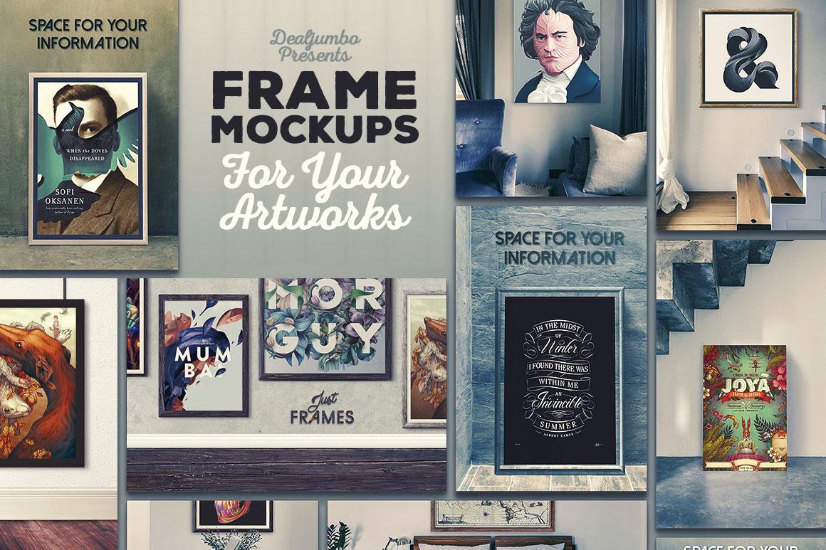 FrameMockupsForYourArtworks