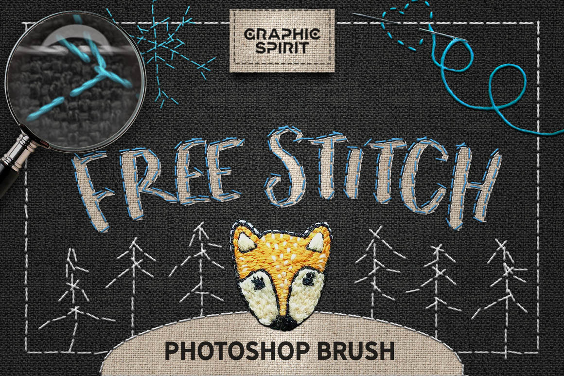 Free-Stitch-Brush-Photoshop