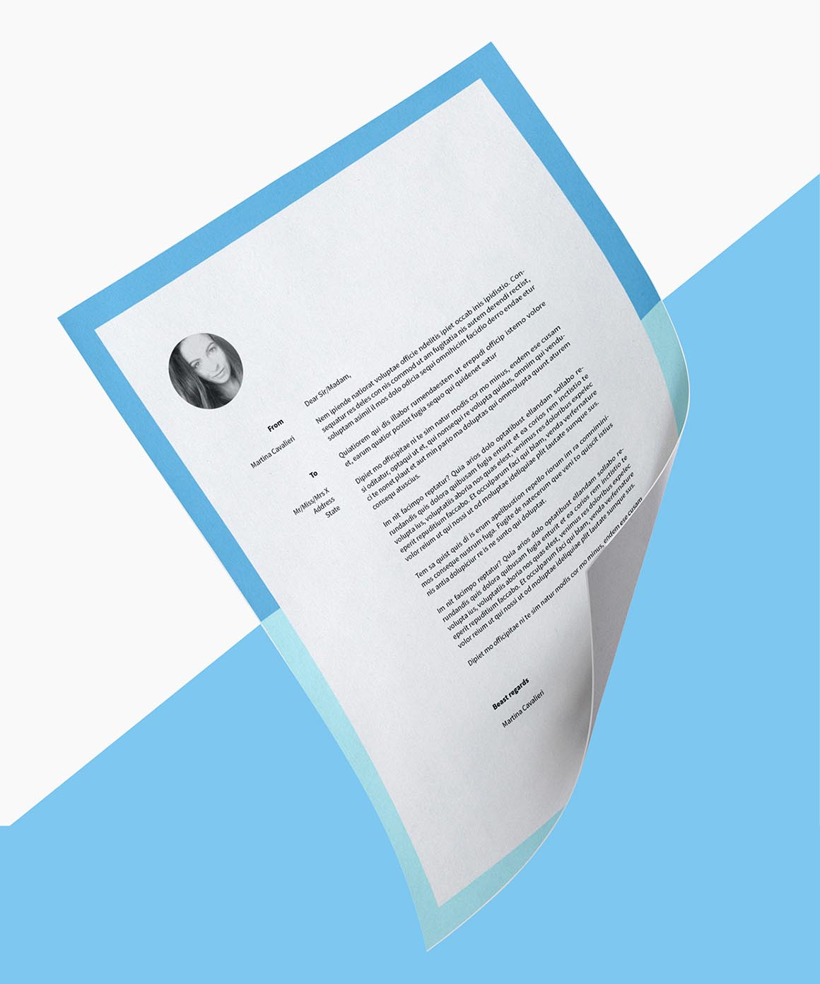 Free InDesign CV Template Dealjumbo — Discounted Design