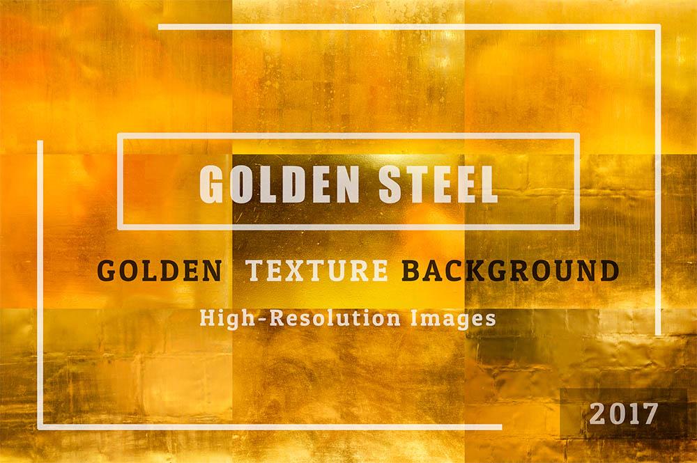 GOLDEN-Steel-of-50-Golden-Textures-Background-Set-01