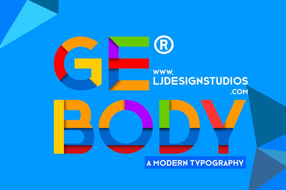 Ge-Body-free-font-1