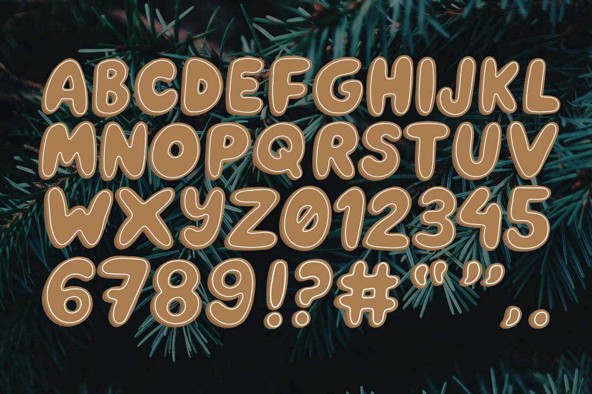 Gingerbread_vector-lettering-free-2