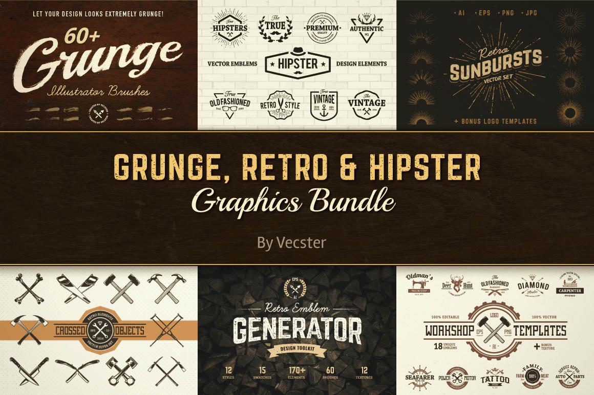 GrungeRetroHipsterGraphics