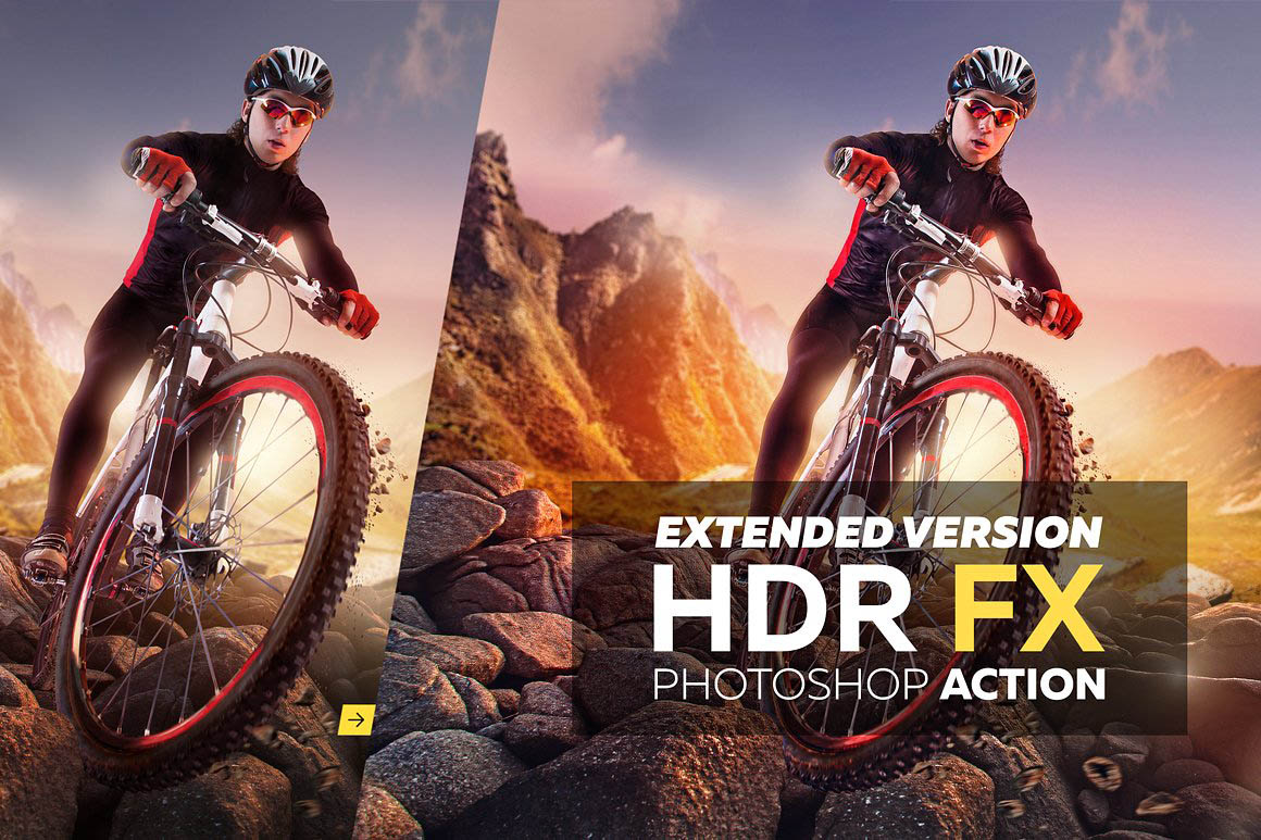 HDR FX Extended - Photoshop Action 1