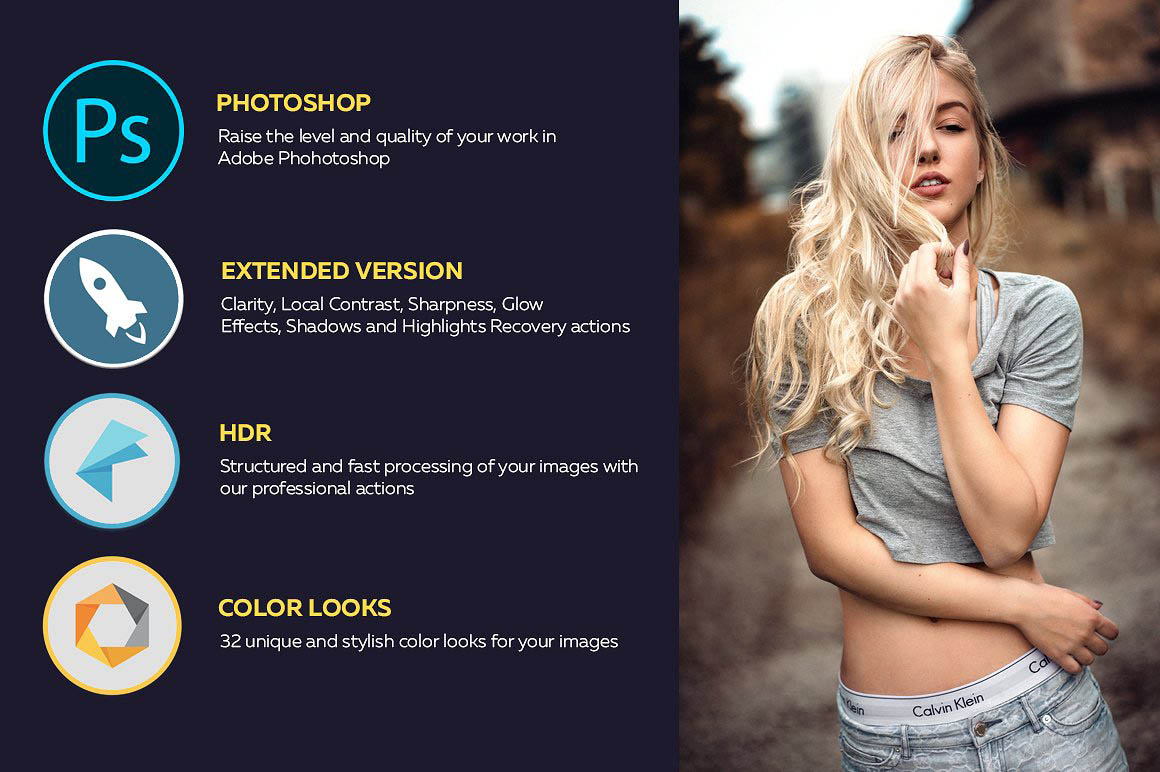 HDR FX Extended - Photoshop Action 2