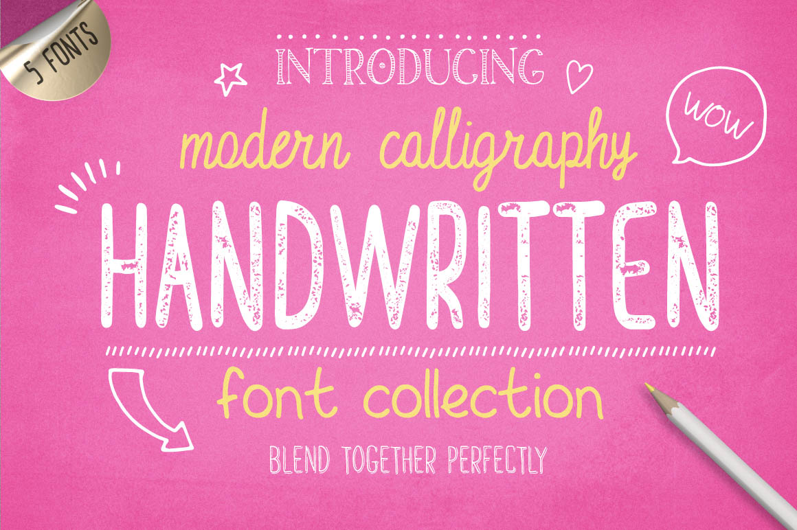 Handwritten-free-Font-Collection-1