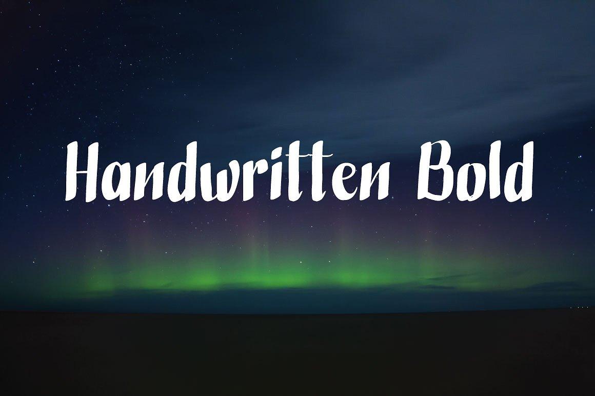 HandwrittenBold1