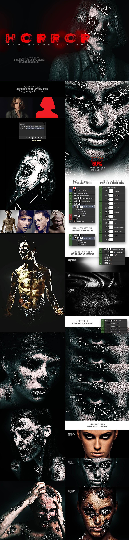 Horror v1 Photoshop Action (design by AMORJESU)