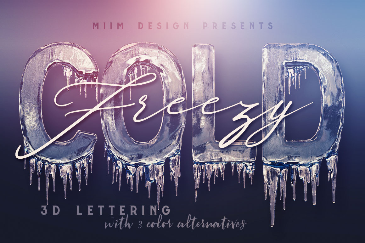 Ice-Cold-3d-lettering-01