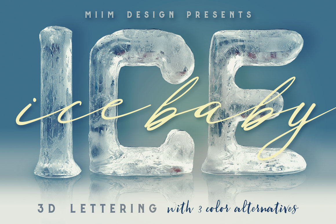 IceIceBaby3Dlettering1