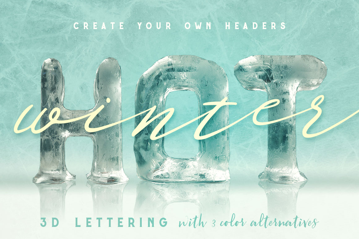 IceIceBaby3Dlettering5