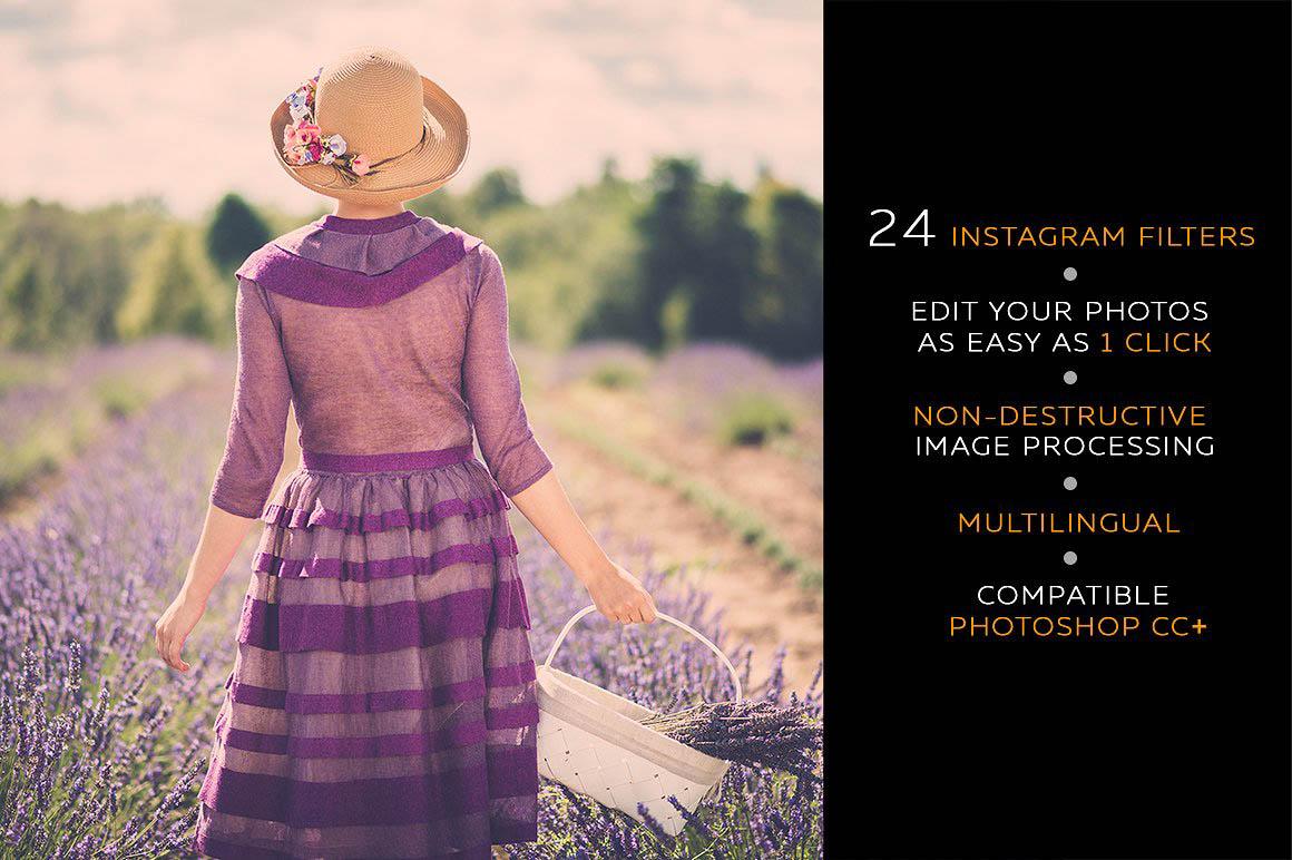 Instagram Filters Photoshop Panel 2