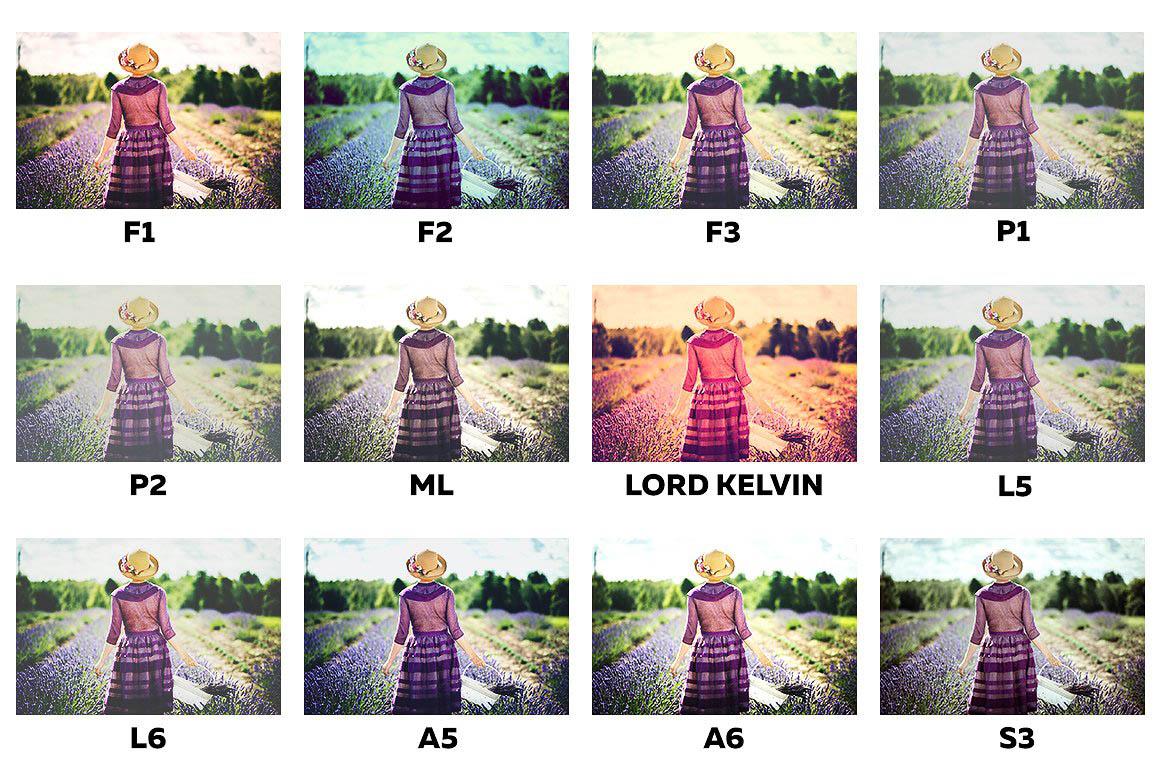 Instagram Filters Photoshop Panel 3
