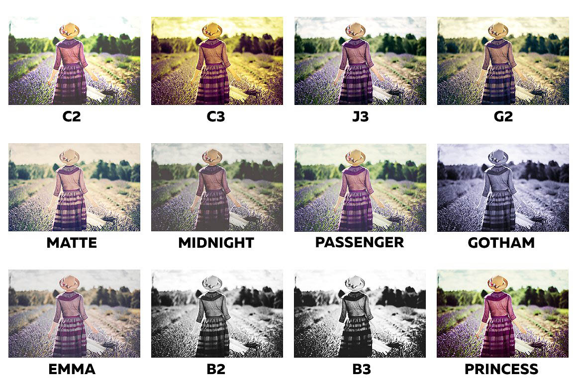 Instagram Filters Photoshop Panel 4