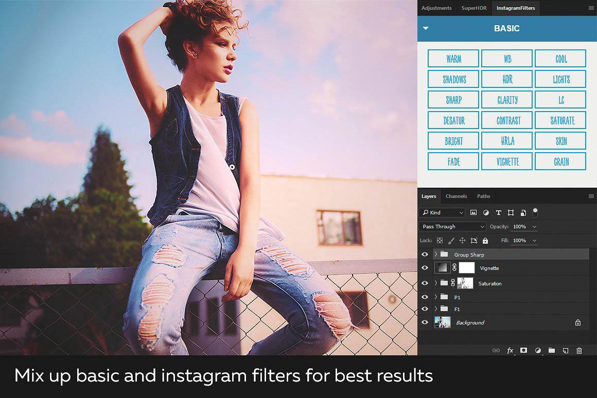 Instagram Filters Photoshop Panel 5