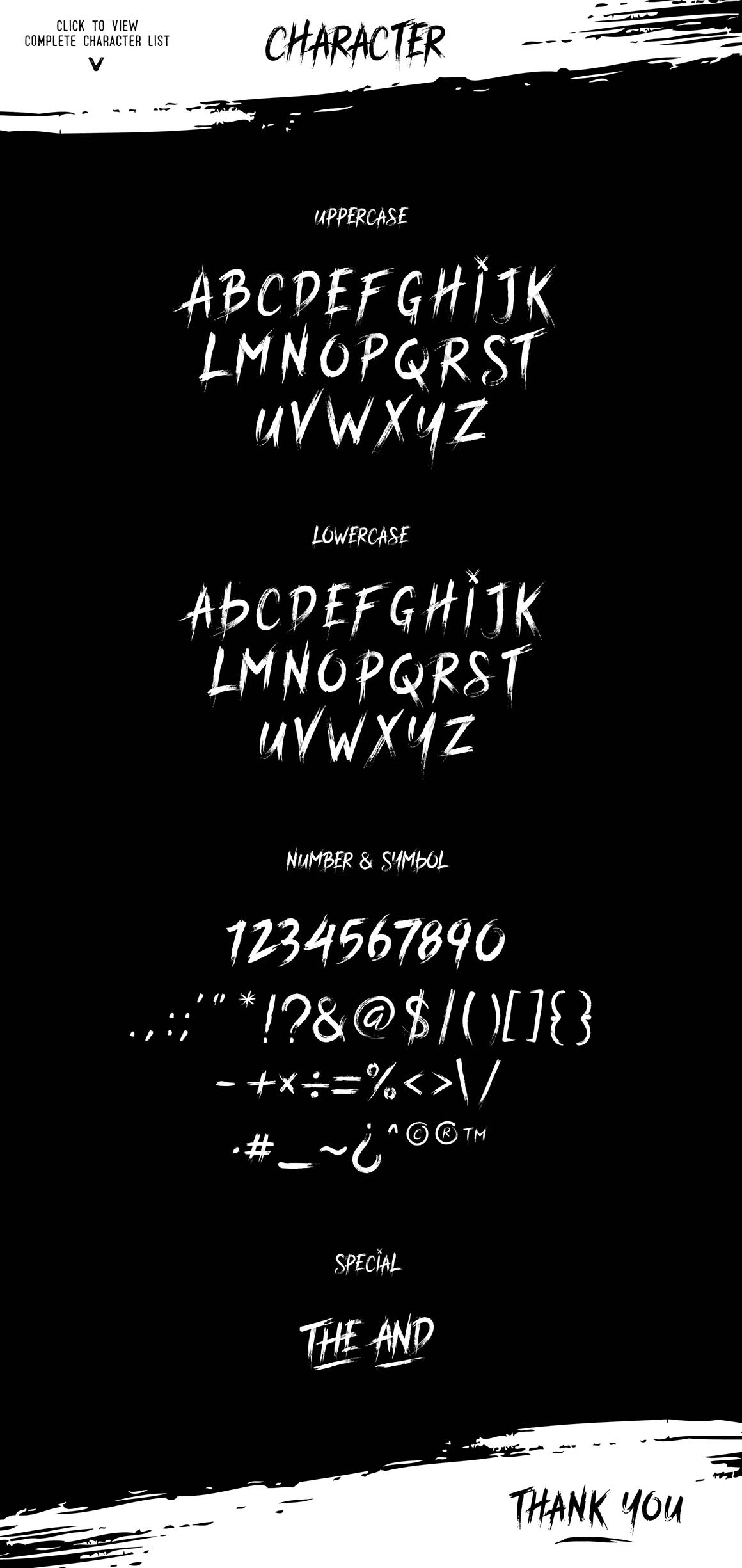 Font Table (Fast way to copy Alternatives Character)