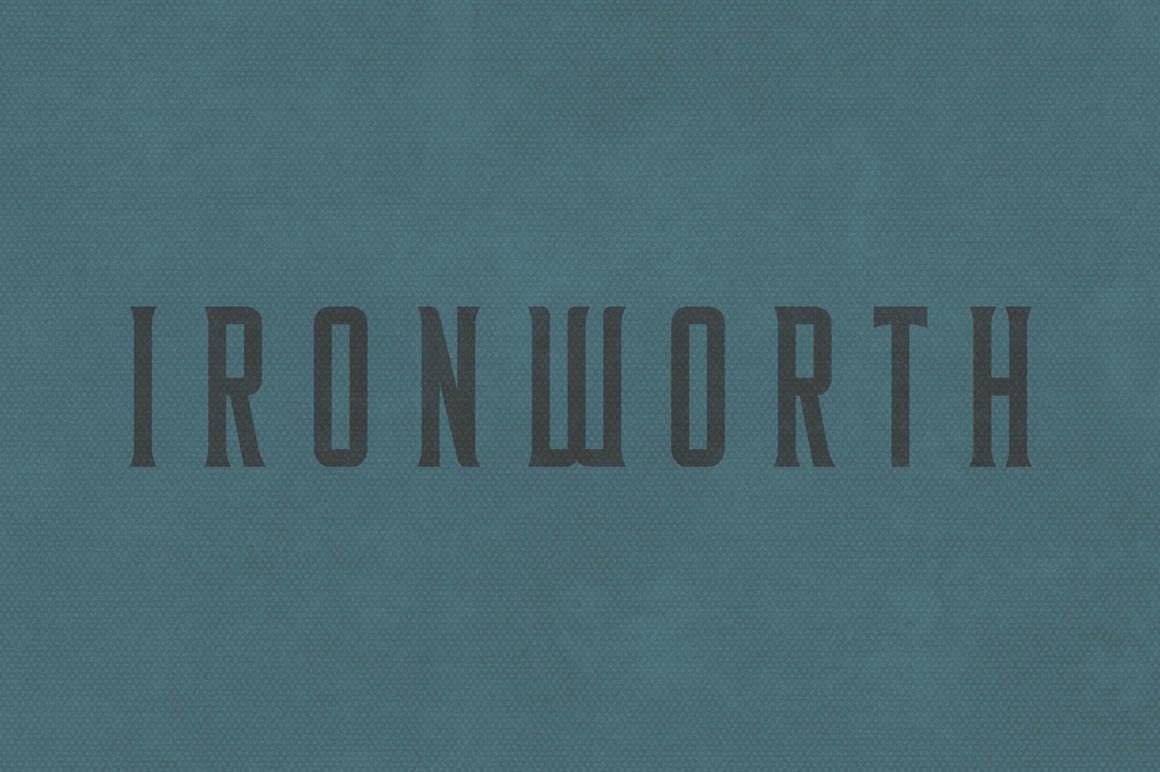 Ironworth-free-font-01