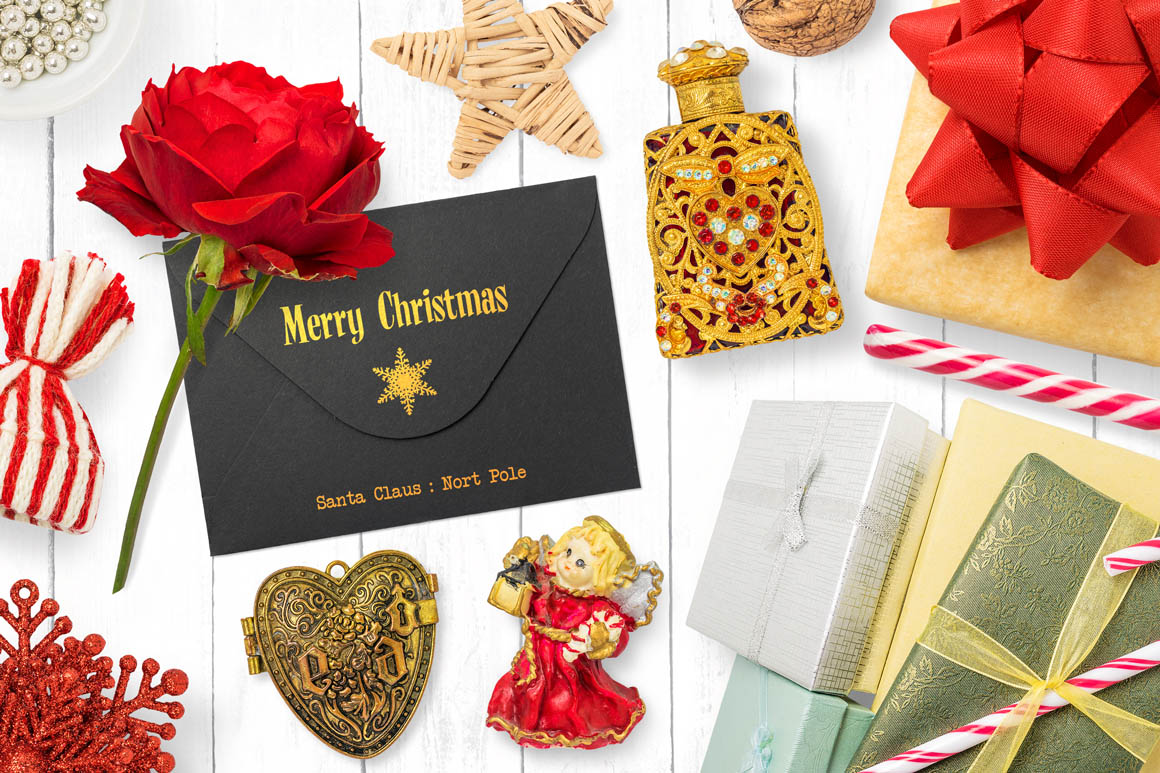 Isolated Christmas Objects 04
